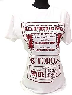 ZiNGS Camiseta Plaza de toros de Las Ventas: Amazon.es: Ropa y accesorios