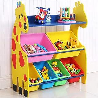 ChengBeautiful Boîte De Rangement pour Enfants Gestionnaire De Stockage De Jouets for Enfants avec Boîte en Plastique, Tir...