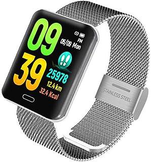XNNDD Reloj Deportivo Inteligente Reloj Impermeable para medir la presión Arterial Reloj de Ritmo cardíaco Hombres y Mujeres Fitness Podómetro Reloj Deportivo