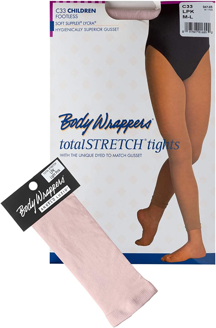 supreme Body Wrappers Las Vegas Mall girls Total Footless C33 Tights Stretch