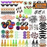 Tomaibaby 160 Piezas Productos de Halloween Jouets de Simulación de Halloween Délicats 20 Modelos...
