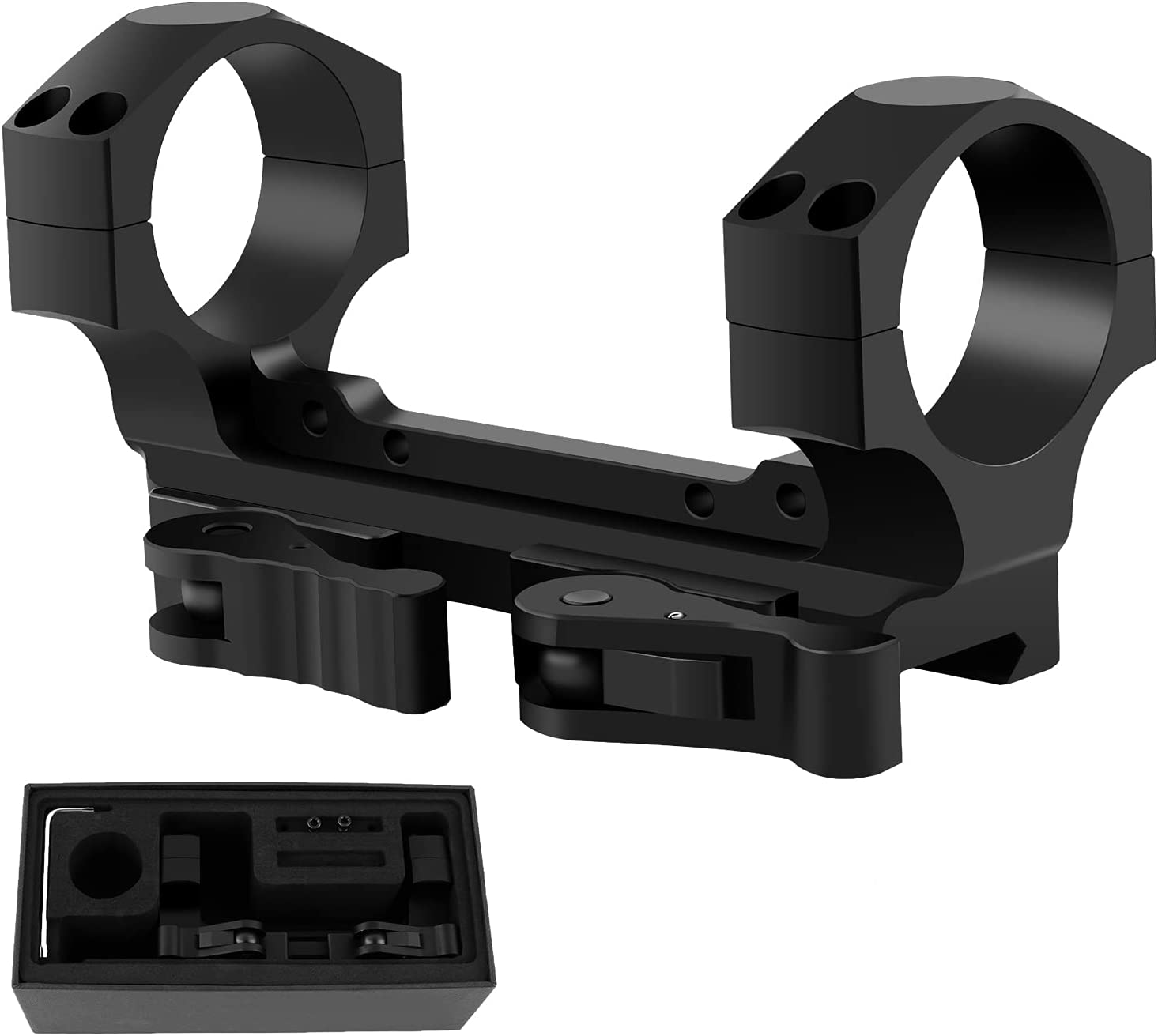 LOCKOOS Dual Ring QD Cash special price New life Scope Mount Quick Pi Release for 34mm with