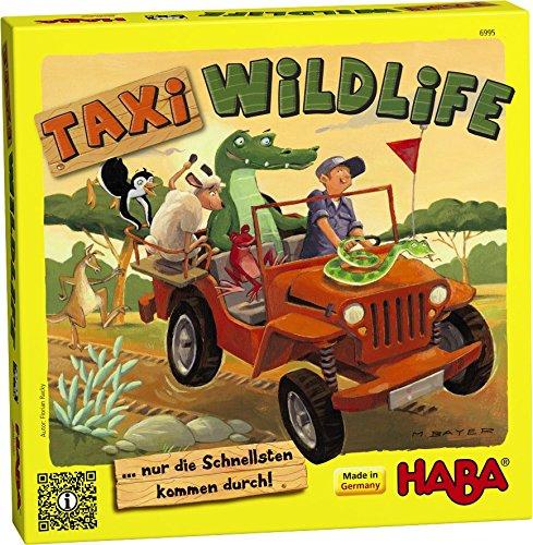 HABA 6995 - Taxi Wildlife, Legespiel