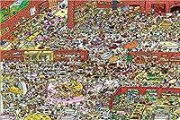 パズルジグソー大人と子供 アニマルパーティー木製パズル300/500/1000ピース、大人の子供のためのスーパー困難なパズルゲーム 家庭用ゲーム (Size : 1000pc)
