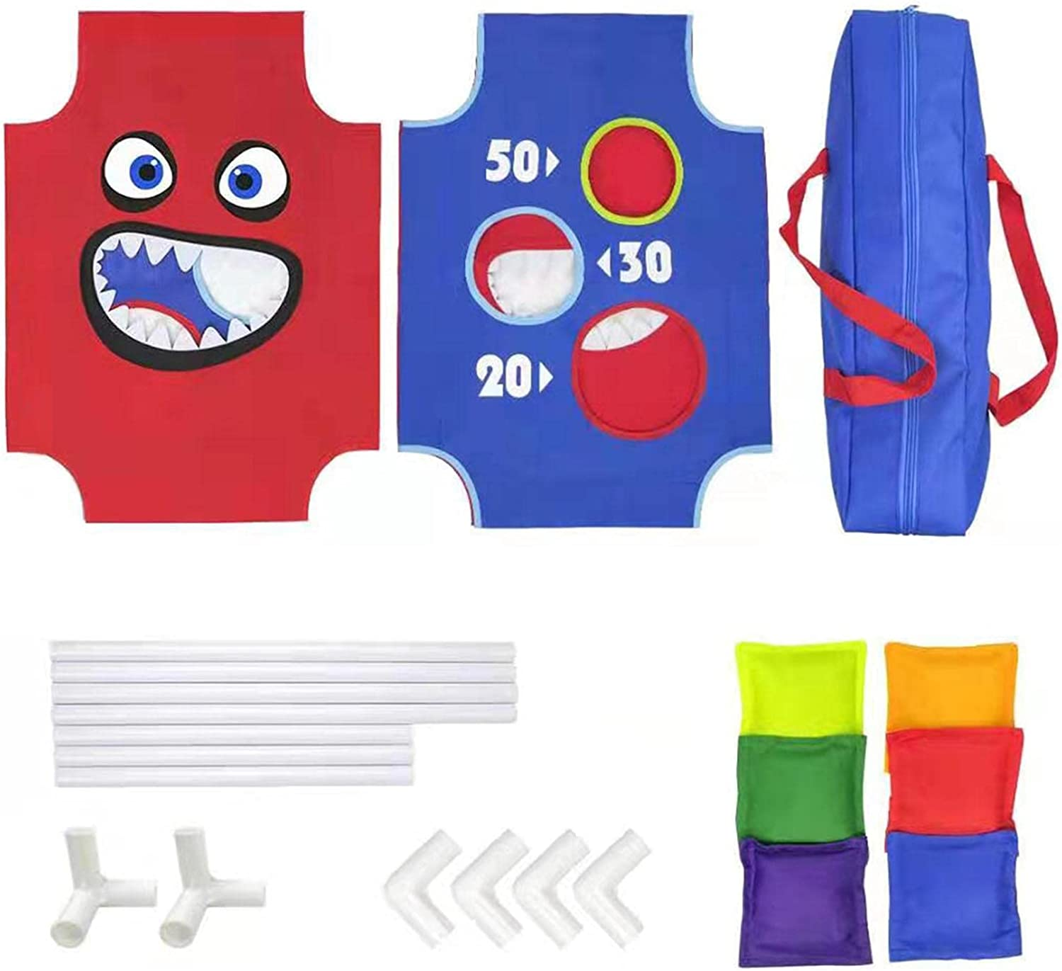 luning Bean Bag Toss Game Toy for Cartoon - Now free shipping Collapsible Toddlers Nippon regular agency