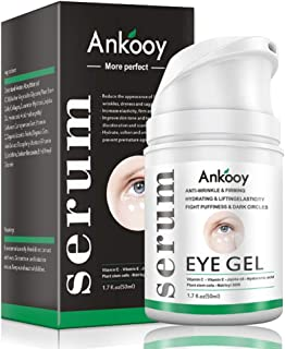 Eye Gel ,Eye Cream for Dark Circles and Puffiness,Wrinkles and Fine Lines,Anti-aging Bags,Under Eye Cream Treatment - 1.7 fl oz