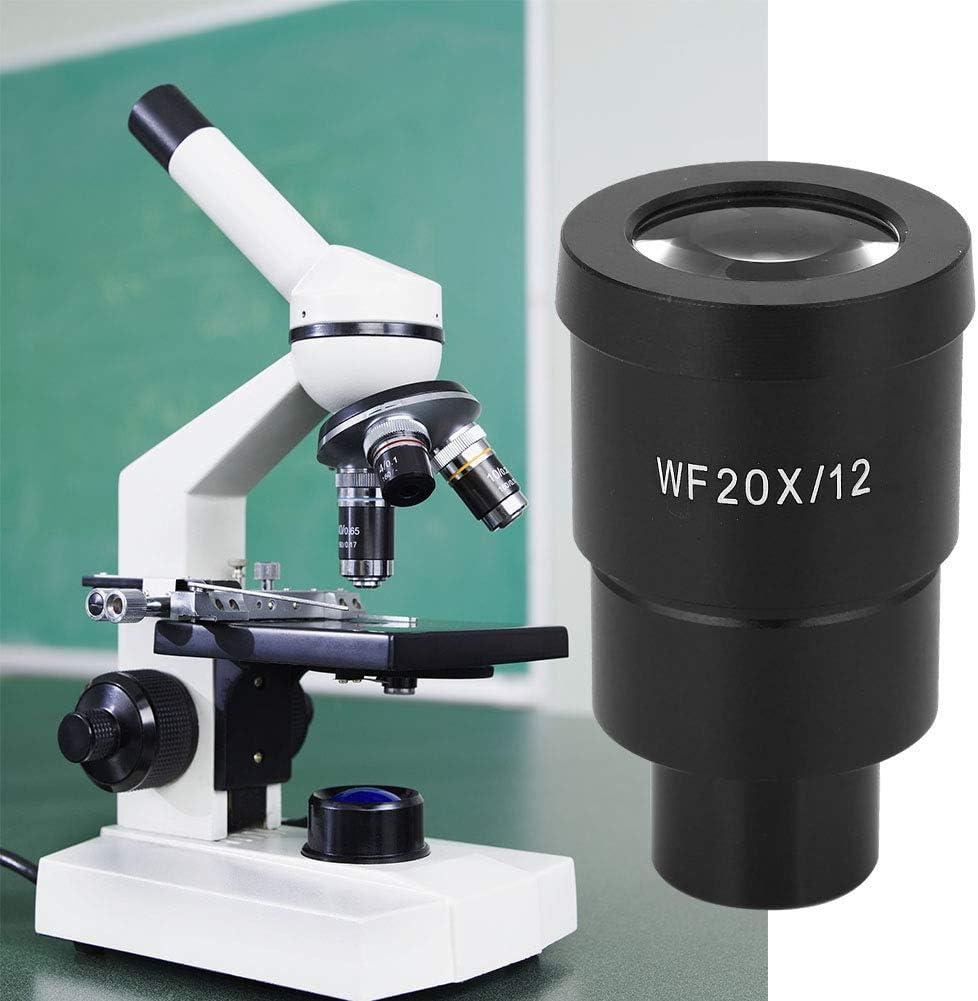 Oumefar Eyepiece 12mm WF20X Lab Limited time sale Microscope for Dallas Mall