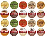 20 Cup Cake Boss & Guy Fieri Flavored Coffee Sampler! 10 Unique! New Flavors! Chocolate Cannoli,...