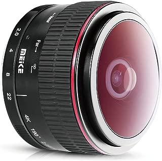 Meike 6.5mm f / 2.0 Nikon 1マウント ミラーレスAPS-Cカメラ用超広角魚眼レンズ(手動でMF),Nikon 1 V1 V2 V3 J1 J2 J3 J4 J5 用