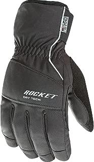 Joe Rocket Ballistic 7.0 Men's Textile On-Road Motorcycle Gloves - Black/Large