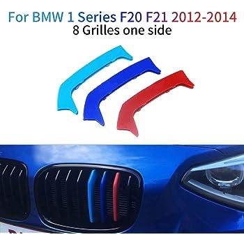 B M W F20 F21 S/érie 1 2015-2017 11 Grill Rein Grille Grill Clip en /à rayures Rayures Coque Trim Boucle D/écor M Power M Sport Tech Bonnet