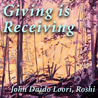 Giving Is Receiving audiobook cover art