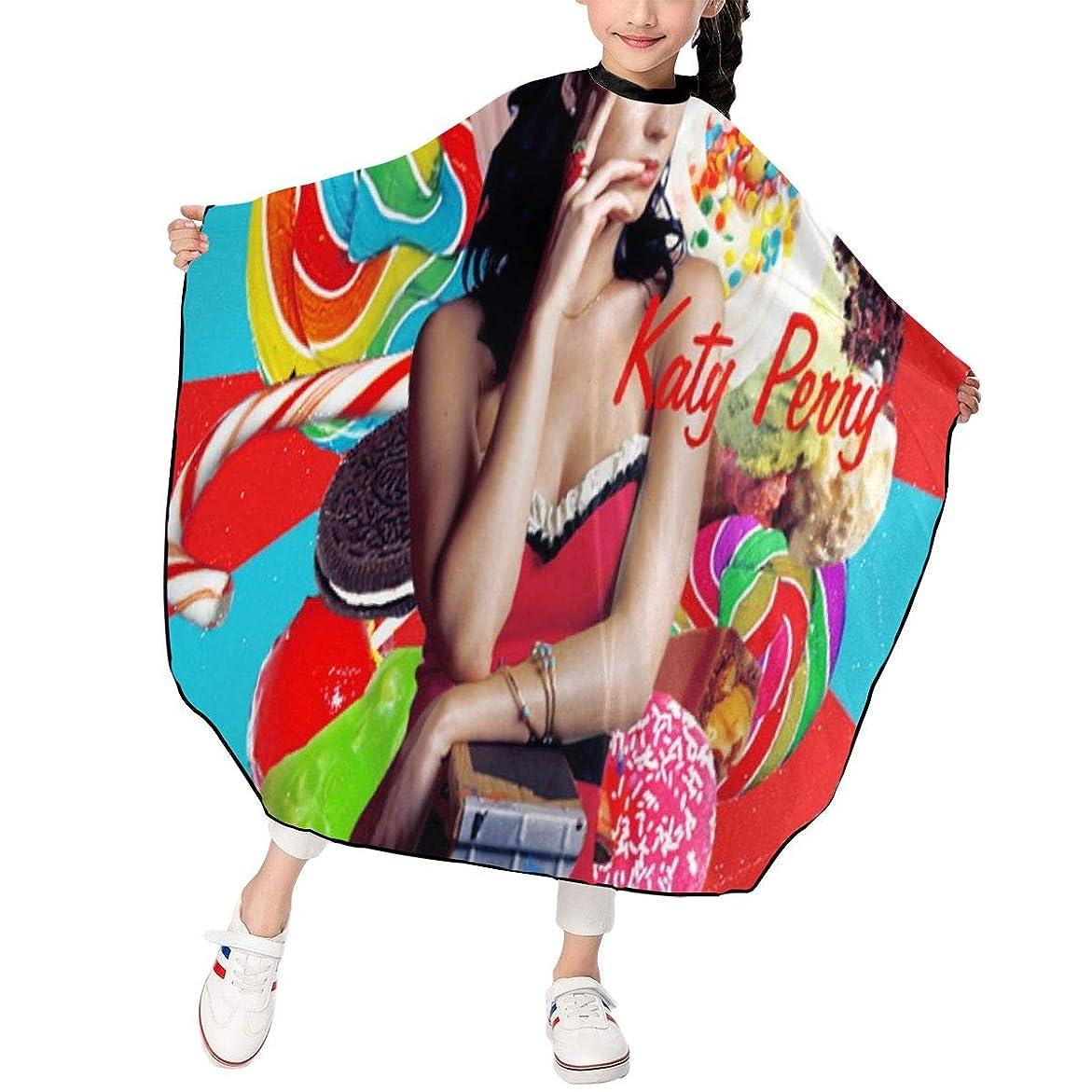 マイクロまたは世論調査最新の人気ヘアカットエプロン 子供用ヘアカットエプロン120×100cm アイドルミュージックKaty Perryケイティー ペリー 柔らかく、軽量で、繊細なポリエステル生地、肌にやさしい、ドライ