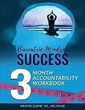Bariatric Mindset Success: 3-Month Accountability Workbook: (black & white version)