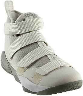 NIKE Mens Lebron Soldier XI SFG Basketball Shoes Light Bone/Dark Stucco-Black 897646-005 Size 10.5