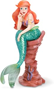 Enesco Disney Showcase Couture de Force Little Mermaid Ariel Figurine, 7.8 Inch, Multicolor