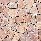 Piastrelle a mosaico in marmo naturale rosso rottura ciot Rossoverona per pavimenti, parete, bagno, doccia, cucina, specchio per piastrelle, rivestimento per pareti e pareti