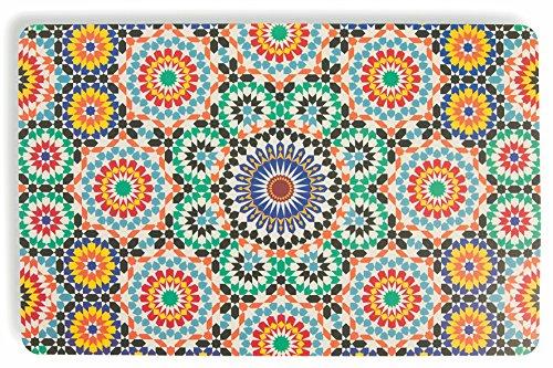 Villa d'Este Home Tivoli Marrakech, Juego de 6manteles Individuales, Multicolores, 44x 28x 0,1cm