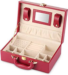Boxes, Cases & Watch Winders Hearty Authentic Cartier Jewelry Case Accessory Case Empty Storage Bag Set Red Watches, Parts & Accessories
