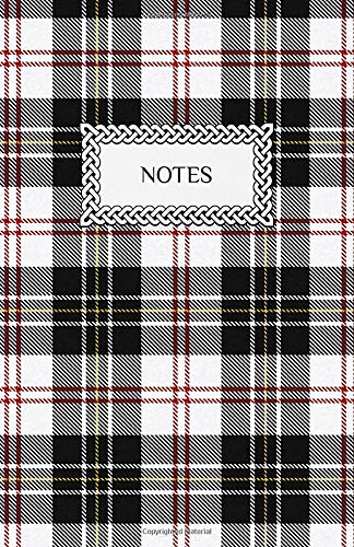 "Notes: Lined Journal Notebook | Clan Macpherson Tartan | Scottish Plaid Pattern | 5.5"" x 8.5"" (13.97 x 21.59 cm)"