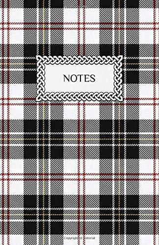 "Notes: Lined Journal Notebook | Clan Macpherson Tartan | Scottish Plaid Pattern | 5.5"" x 8.5"" (13.97 x 21.59 cm)"