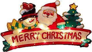 ES492 40 x 20 cm-Noël Intérieur éclairage Light Up Joyeux Noël Signe