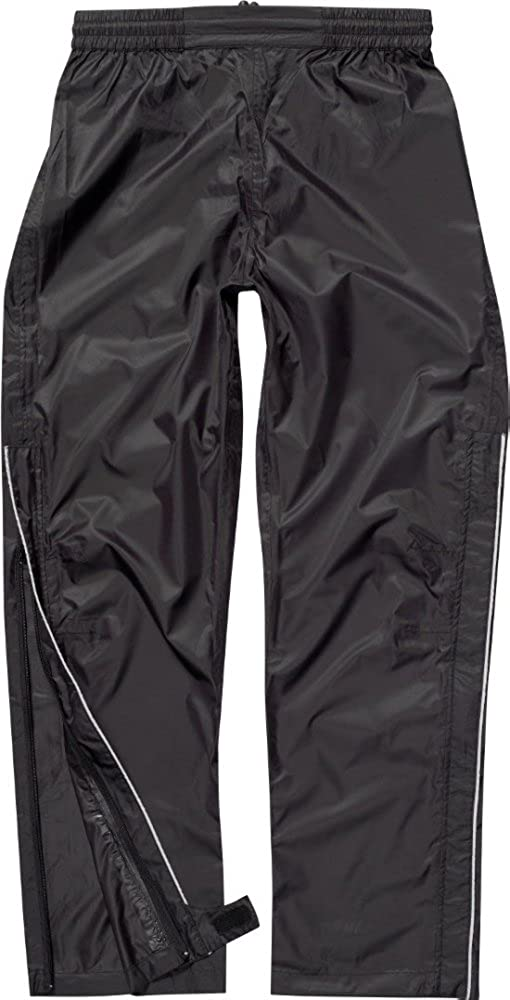 NEW POLARIS SURGE ADULTS MENS WATERPROOF CYCLING OVER TROUSERS BLACK M//XL//XXL