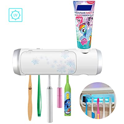 UV Toothbrush Sanitizer Holder with Sterilizati...