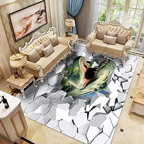 LBMTFFFFFF Alfombra alfombra rectangular alfombra de casa alfombra de terciopelo de cristal suave y delicada con la piel, alfombra de soja, 50 x 120 cm