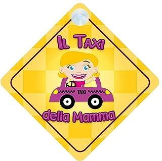 bambini La Principessina di Pap/à a Bordo DLP011 adesivo bimbo // bambina // neonato a bordo adesivo macchina bimbi famiglia