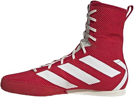 Adidas Unisex Box Hog 3 Shoe, Japan Red/Off White/Gold Met ...