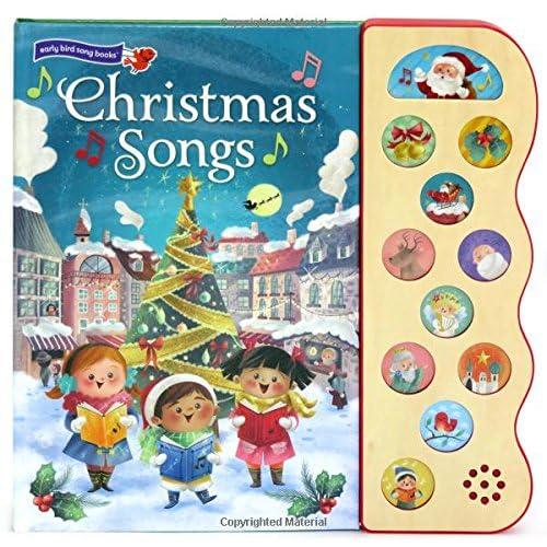 Christmas Songs: Interactive Children's Sound Book (10 Button Sound) (Early Bird Song)