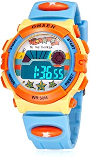 Kids Electronic Watch for Boys and Girls,LED Display...