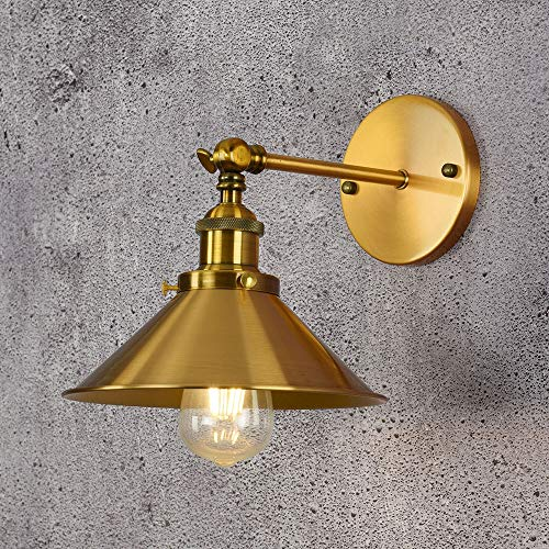 no-branded Adjustable Lighting Personality Creative Iron Art Gold-plated Wall Lamp Bar Living Room Decoration Lamps ZHQHYQHHX