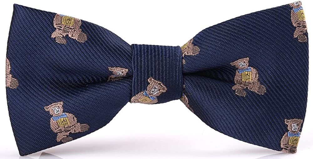 Flairs New York Animal Lovers' Gorgeous Tie cheap Collection Pocket Bow Neck