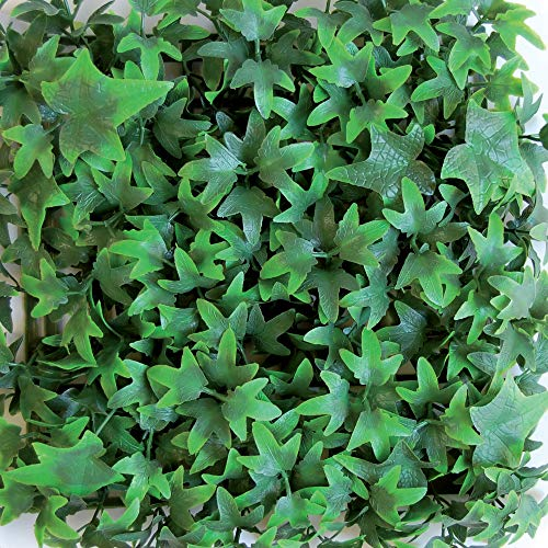 Kunsthecke Hecke Gartenhecke vertikal Helix grün