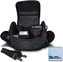 دوربین فیلمبرداری کوچک و متوسط دوربین فیلمبرداری نیکون، کانن، سونی، پنتاکس، Olympus پاناسونیک، سامسونگ و بسیاری دیگر + eCostConnection Microfiber Cloth
