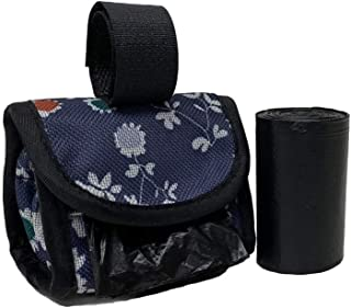 Five Star Pet Purse Style Dispenser with 2 Rolls Made in USA Easy Open Poop Bags Dog Waste Bags (Daisy)