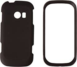 HR Wireless Rubberized Cover Case for LG Extravert 2 VN280 - Retail Packaging - Black