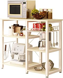 Soges 3-Tier Kitchen Baker's Rack Utility Microwave Oven Stand Storage Cart Workstation Shelf W5s-F