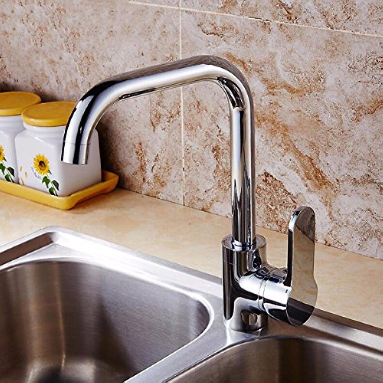 XPYFaucet Wasserhahn Armatur Mischbatterie Küche Kupfer hauptkrper heie und kalte waschbecken waschbecken 360 drehbare küche waschbecken, b