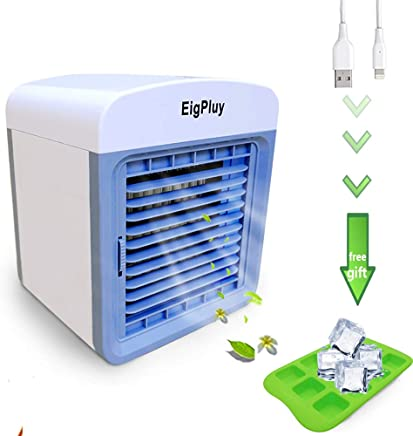 d7c4d675076 EigPluy Personal Air Cooler 6.5-inch Portable Air Conditioner Fan Small  Space Cooler Personal USB