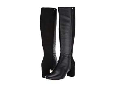 Cole Haan Rianne Boot 65 mm (Black Leather/Suede) Women