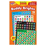 Cute, colorful stickers help spotlight good behavior, boost motivation, and make good habits stick. Extra value in every pack. Great on homework, incentive pads and charts, and more. Nontoxic, acid-free, and safe to use on photos and in scrapbook alb...