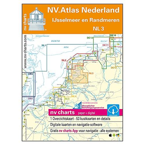 Niederlande, Satz NL 3 - Ijsselmeer und Randmeere (NV.Atlas Kombipack)