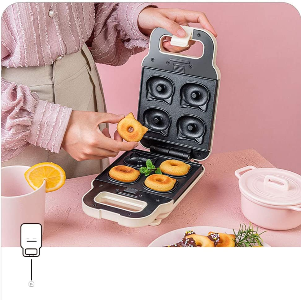 XCXDX Mini Muffin À Sandwich avec Plateau De Cuisson Amovible, Machine À Déjeuner Pratique, Gaufrier À La Maison H D