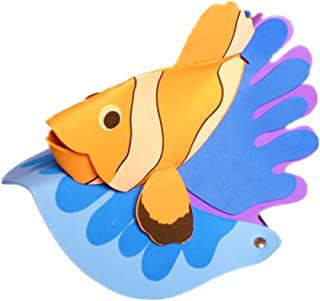 Remeehi Halloween Hat Fancy Dress Party Costume Cap Party Decor for Kids Adult Dress up Party Halloween Costume Head Accessory Top Hat Clownfish