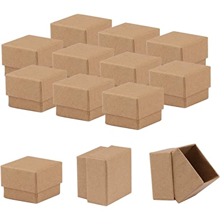 36 clear top gift boxes packaging shipping 3x2.5x1