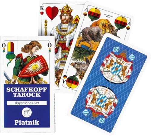 Piatnik 1822 Kartenspiel Schafkopf Tarock