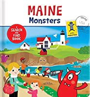 Maine Monsters: A Search and Find Book (City Monsters)